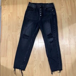 Free People Ditressed Jean